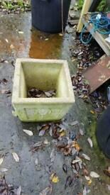 StoneFlower pot