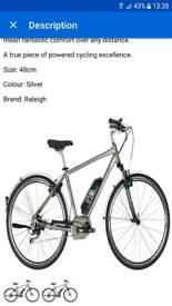 Raleigh Captus Electric Mens Bike