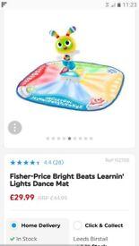 Fisher-Price Bright Beats Learnin' Lights Dance Mat