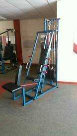 Seated Chest Press/Seated Row machine
