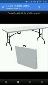 Brand new folding table