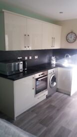 Garage conversion into self contained flat attached to 4 bedroomed detached house 15 mins from Leeds