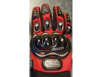 Motorcycle gloves- sized medium
