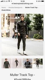 Green and khaki be inspired tracksuit