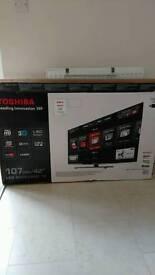 """Toshiba 42"""" LED backlit TV"""
