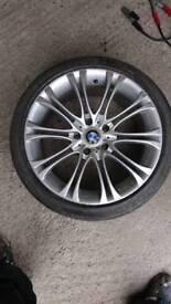 Non oem E39 BMW 5 series 18inch alloy