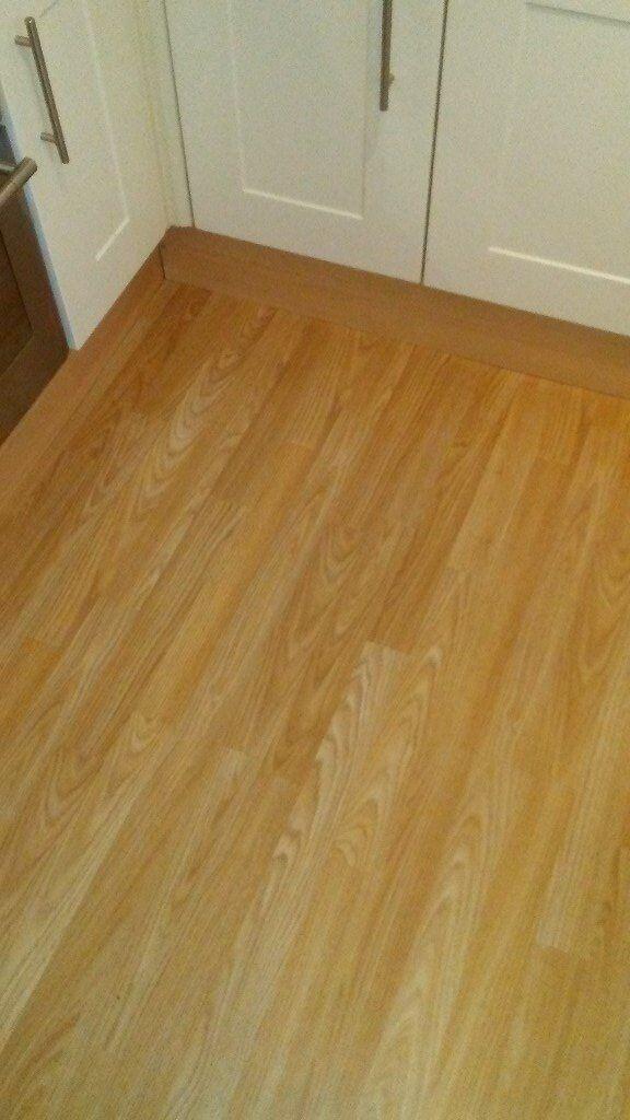 6 X Packs Of Bq Light Oak Laminate Flooring In Sittingbourne