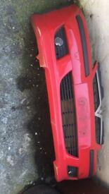 Vauxhall corsa c front bumper with irmscher splitter