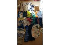 Big bundle 9-12 month boys clothes, good condition. Next, m&s, boots, tu and others. 41 items