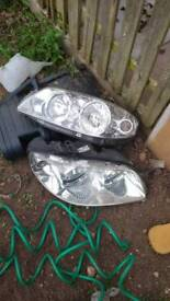Mk2 fiat punto headlights (pair)