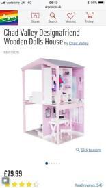 Chad Valley Designafriend House, Furniture, Doll & Clothes