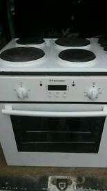 Electrolux cooker and hob