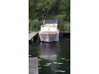 Boat - project, part restored, 26ft, 2 berth, solar panels, engine and controls needs attention