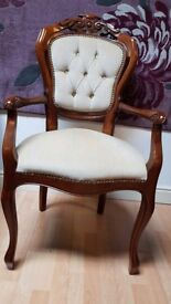antique armchair . Italian dining room armchair excellent condition