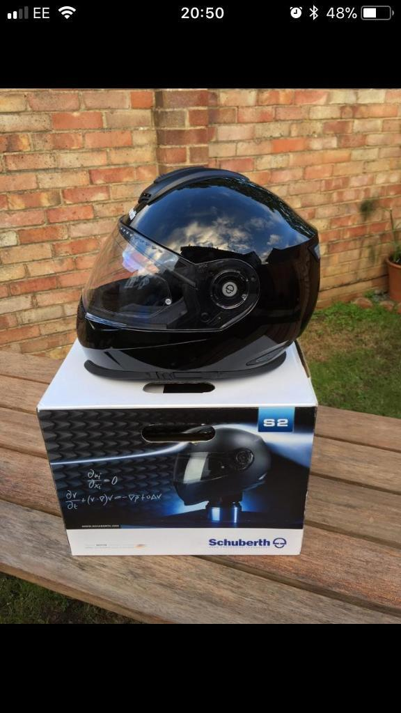 Motorcycle helmet Schuberth s2 small gloss black