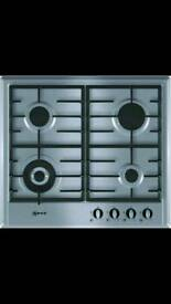 Brand New Neff Stainless Steel Gas Hob T22S46NO