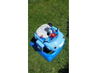 Mothercare Blue Car Baby Walker