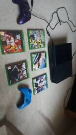 Xbox one with 2 controllers and games bundle (5 top of the range games.)