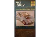 Haynes Manual, Fiat Punto 99-03