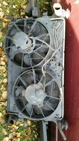 ford focus mk1 radiator and fans