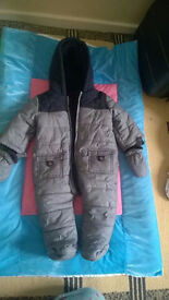 NEW 6-9 months snow suit from Matalan