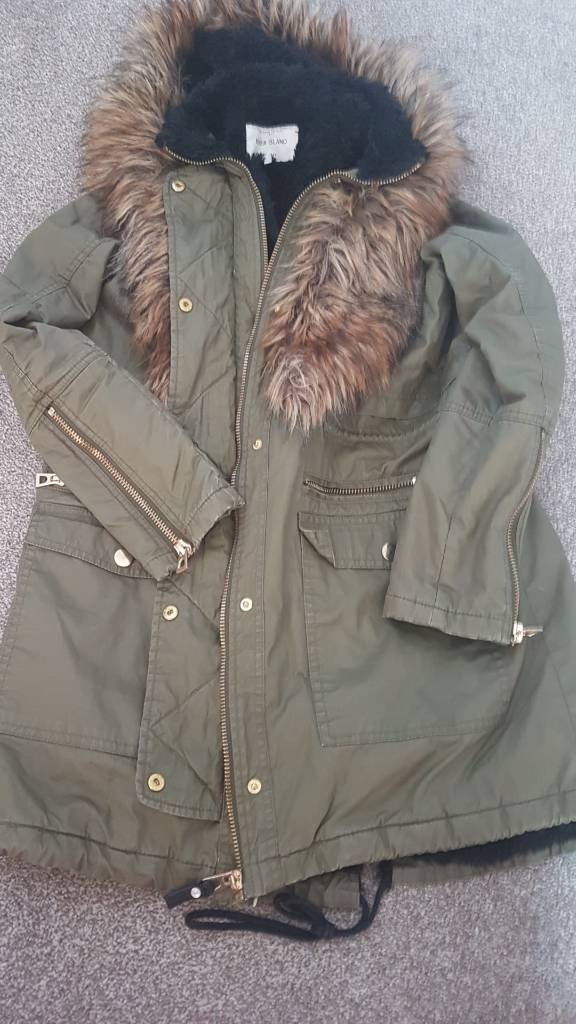 44e0f724284 River island coat ladies | in Leicester, Leicestershire | Gumtree