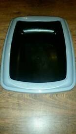 Extra large cat litter tray