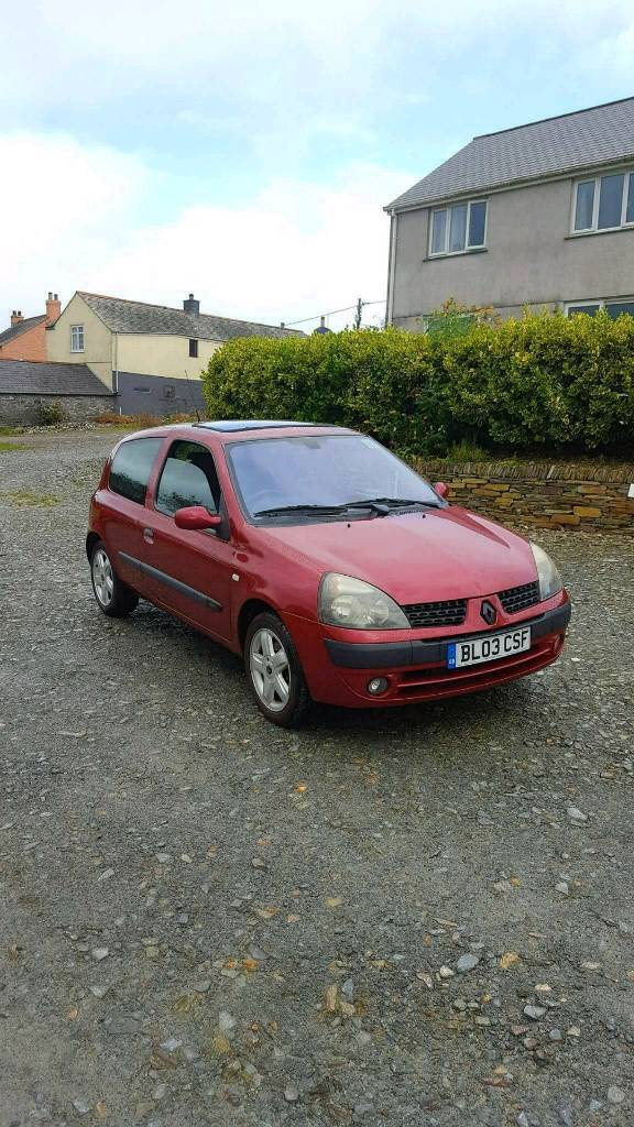 RENAULT CLIO 1.2 16V IDEAL FIRST CAR LONG MOT LOVELY CLEAN CAR