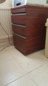 3 draw filing cabinet