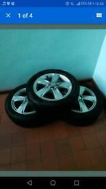 Seat ibiza alloys and tyres x 4