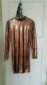 Heavy sequin dress