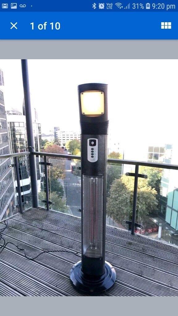 Chillchaser Outdoor Patio Heater Zeus Model