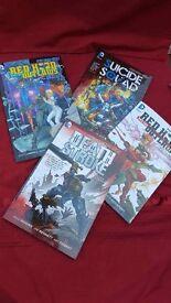 2 DC COMIC BOOKS - DEATH STROKE & SUICIDE SQUAD - THE NEW 52