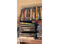 Blu-ray's and DVD's
