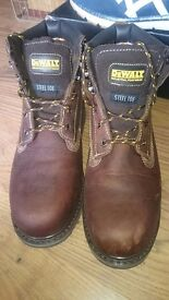 DeWalt mens work boots. Brand new, never worn. Selling because bought the wrong size. Bought for £50
