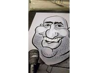 Caricaturist live Caricature Entertainment for this Wedding lulls, birthday parties, and corporate