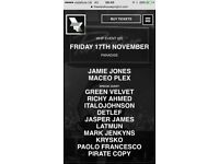 Warehouse project 17th November Paradise