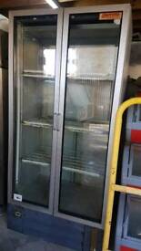 CARRAVELL commercial double doors chiller fully working with guaranty