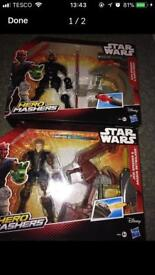 StarWara Hero Mashers sith and jedi rrp £15 each