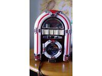 Retro Mini Juke box radio/CD/MP3 Speaker