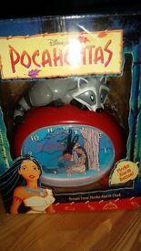 Disney Pochahontas Clock