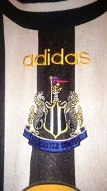 Adidas NUFC Football shirt - home, 1997-99 seasons