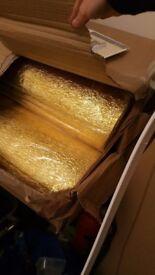 17 rolesSonic gold 3mm floor underlay