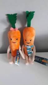 Kevin and Katie Carrot Aldi Advert