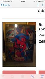 Brand new still sealed Spider-Man canvas