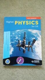 HIGHER PHYSICS FOR CURRICULUM FOR EXCELLENCE WITH ANSWERS