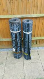 1 roll of felt top sheet + 1 roll of underlay, torch on one. Best quality!!!
