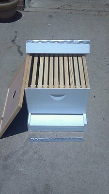 Complete Beehive Kit. Assembledpainted Ready For Bees.