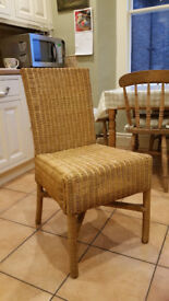 Dining Chairs (Rattan) - set of four