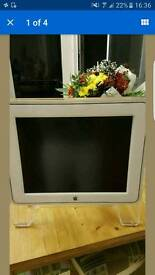"""Apple mac 15"""" monitor with cable"""